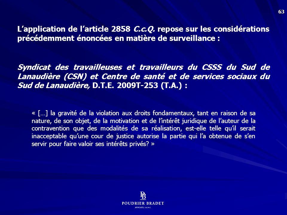 Mascouche (Ville de) c. Houle, [1999] R.J.Q. 1894 (C.A.), p. 1909 :